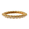 Traditional Ethnic One Gram Glod Plated Pearls Diamonds Designer Bangle for Girls & Women