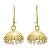 JFL - Traditional Ethnic One Gram Gold Plated Pearl Designer Jhumki Earring for Women & Girls.