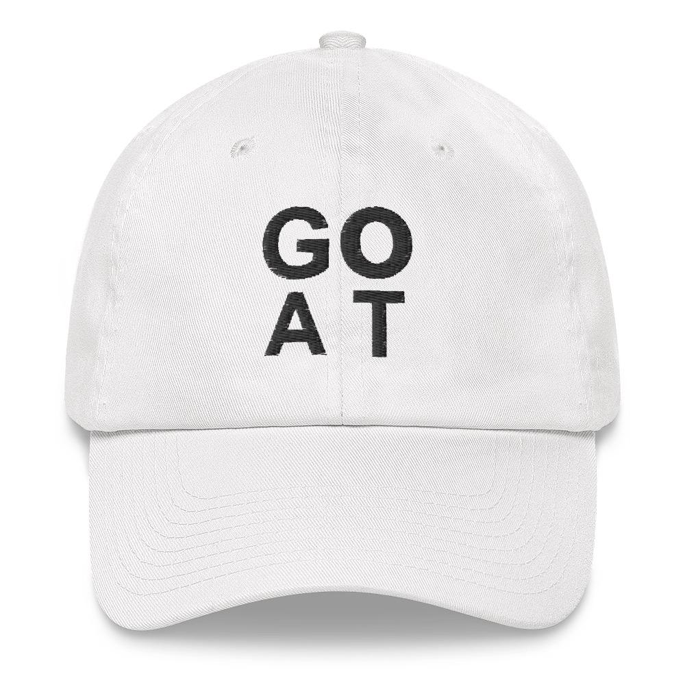 GOAT Dad Hat - WHGHOLLYWOOD