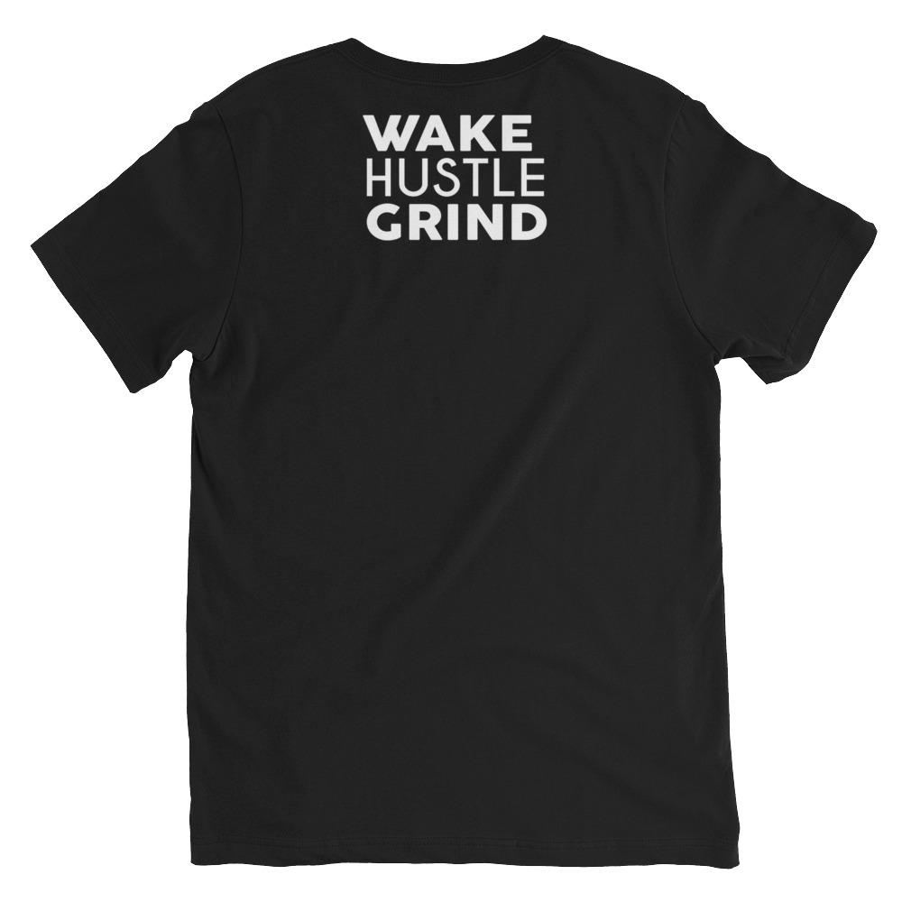 Hustling Saved My Life V-Neck T-Shirt - WHGHOLLYWOOD
