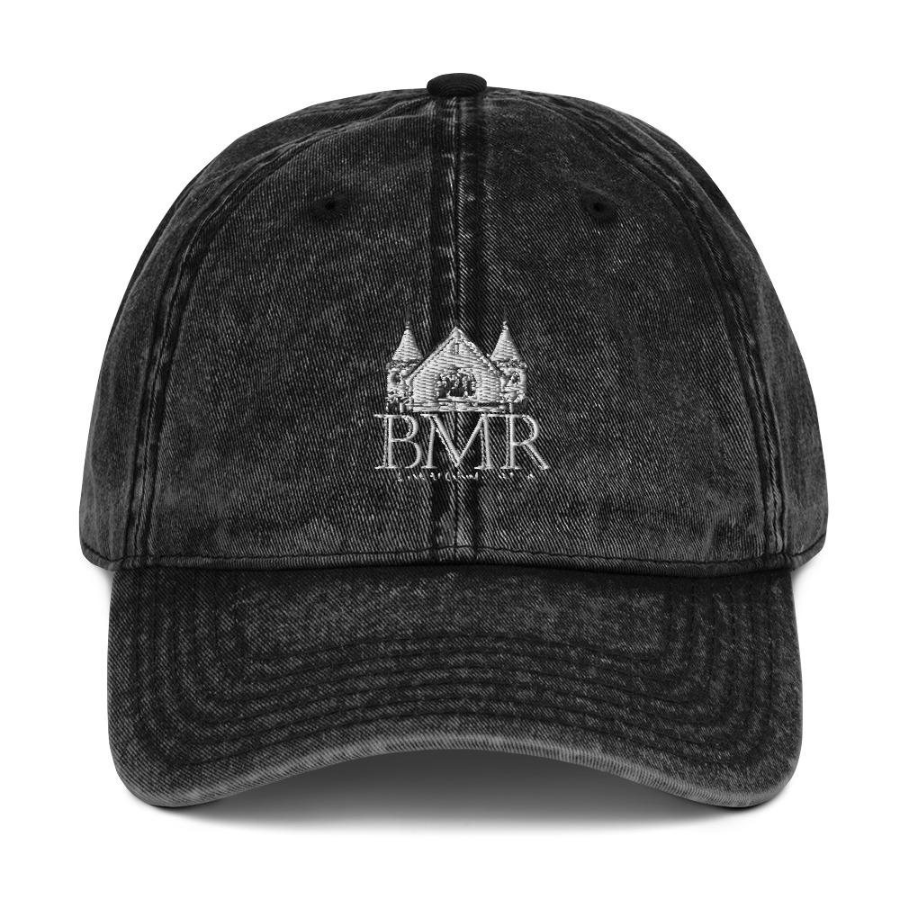BMR Vintage Cotton Twill Cap - WHGHOLLYWOOD