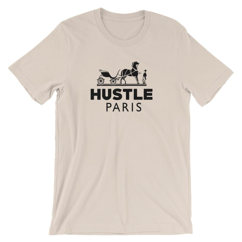 Hustle Paris Horse Tee - WHGHOLLYWOOD