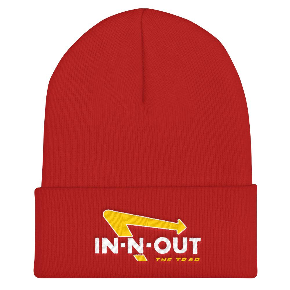 In and out the Trap Beanie - WHGHOLLYWOOD