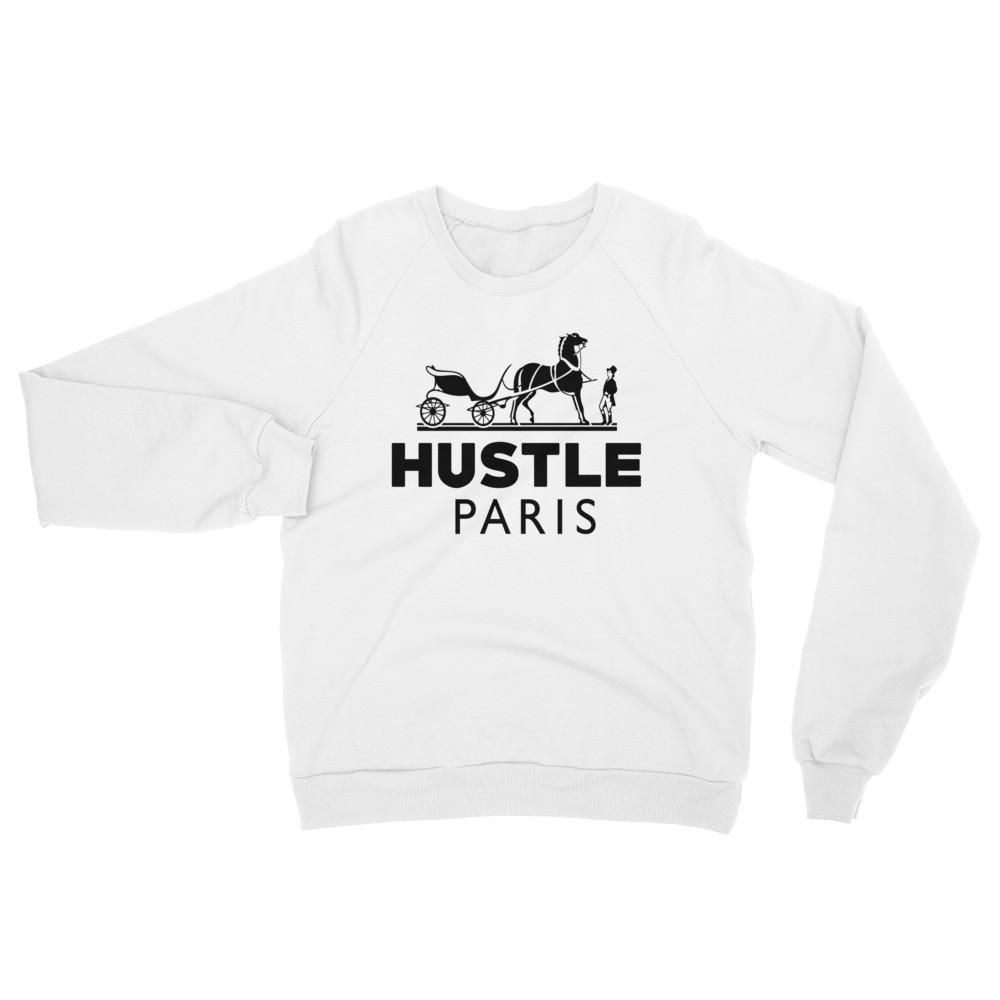 Hustle Paris Raglan sweater - WHGHOLLYWOOD