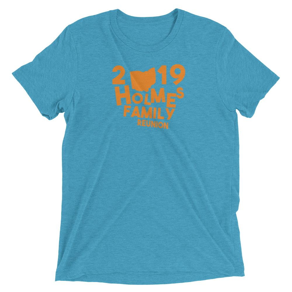 2019 Holmes Family Reunion Short sleeve t-shirt - WHGHOLLYWOOD
