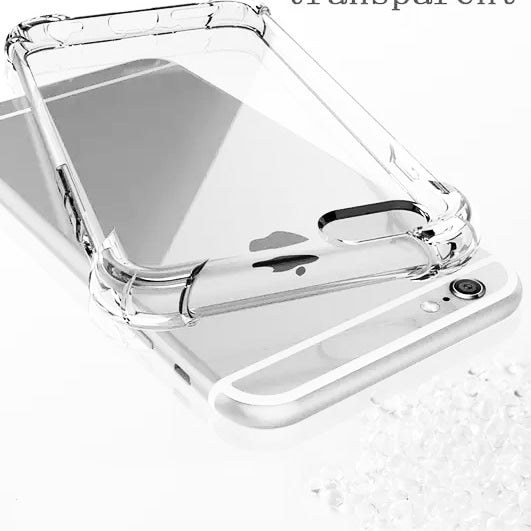 Clear Phone Case For iPhone 8 7 6 6S Plus