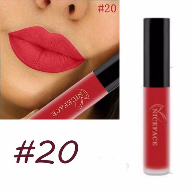 Long Lasting Waterproof Matte Lipsticks - Hotline Gadgets
