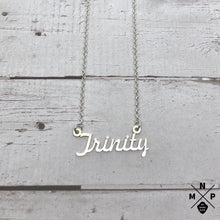 Load image into Gallery viewer, Trinity Style Name Necklace