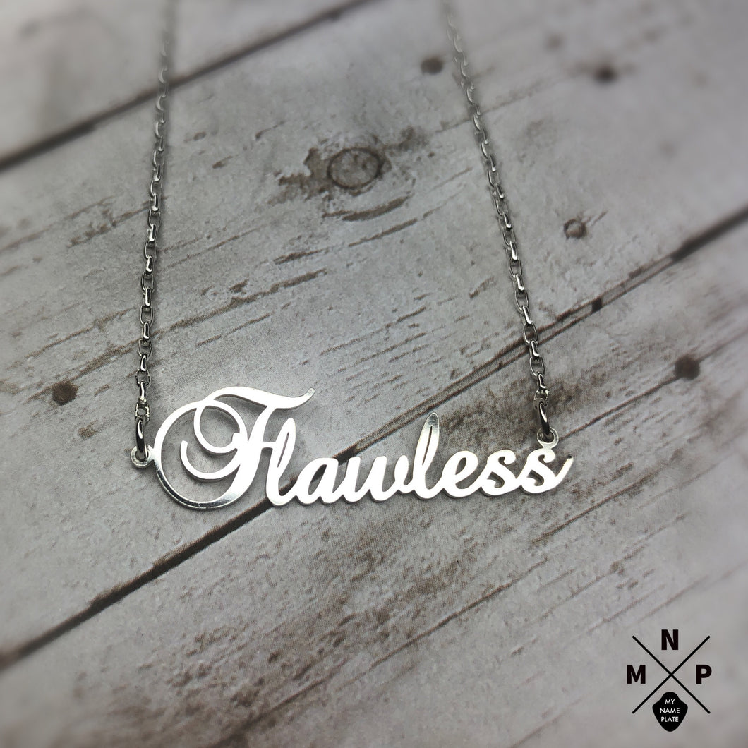 Fancy Style Name Necklace