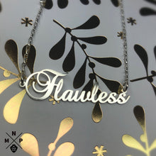 Load image into Gallery viewer, Fancy Style Name Necklace