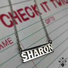Load image into Gallery viewer, Gangsta Style Name Necklace *EXCLUSIVE DESIGN*