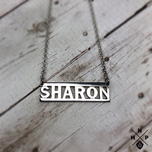 Gangsta Style Name Necklace *EXCLUSIVE DESIGN*