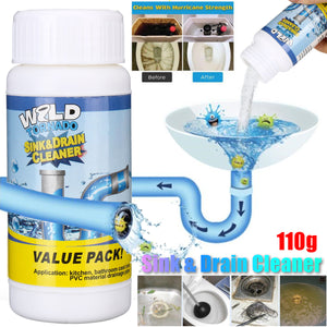 Powerful Sink and Drainage Anti-Clog Cleaner