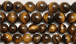 Tiger-Eye Beads For Jewelry (Natural Stone Agates)