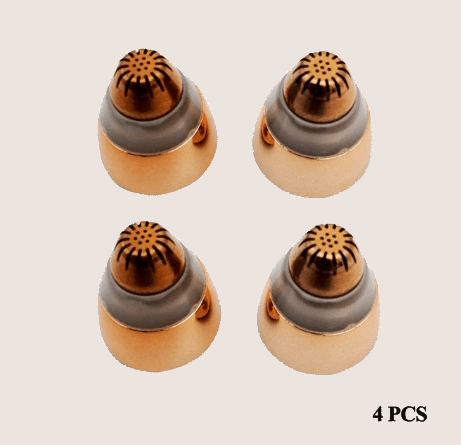 Eyebrow Trimmer Replacement Heads (4 Pieces)