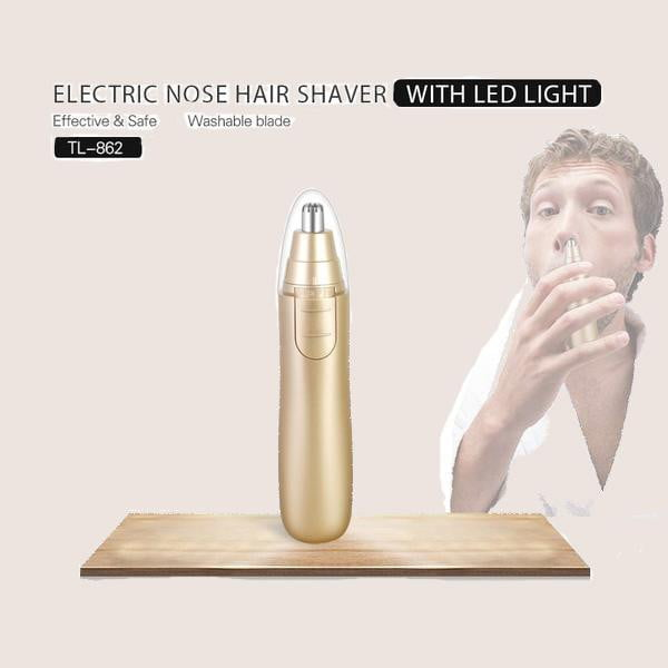Electric nose & ear hair trimmer for men
