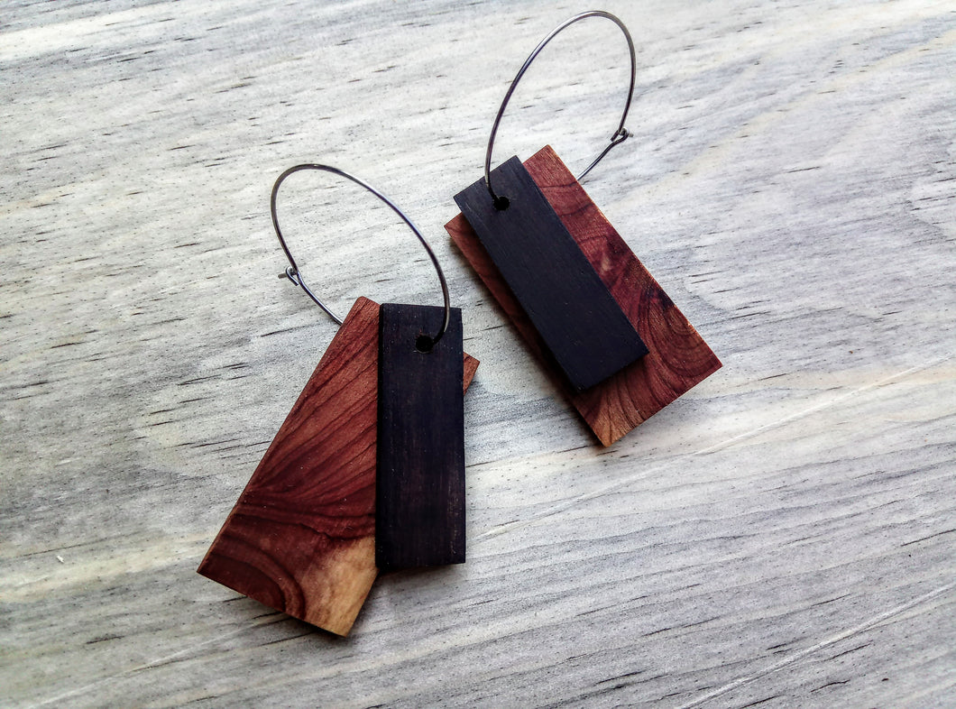 African Blackwood with Cedar Accent