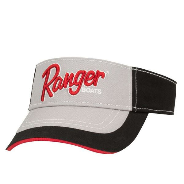 Ranger Grey Tournament Visor - TailwaterOutfitters
