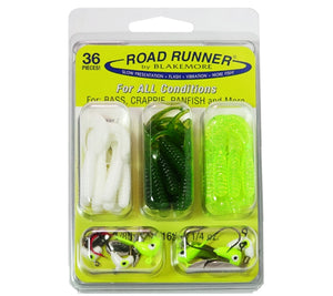 Road Runner 36pc Crappie Kit