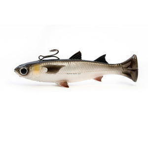 "Savage Gear Pulse Tail 6"" Mullet Line Thru"