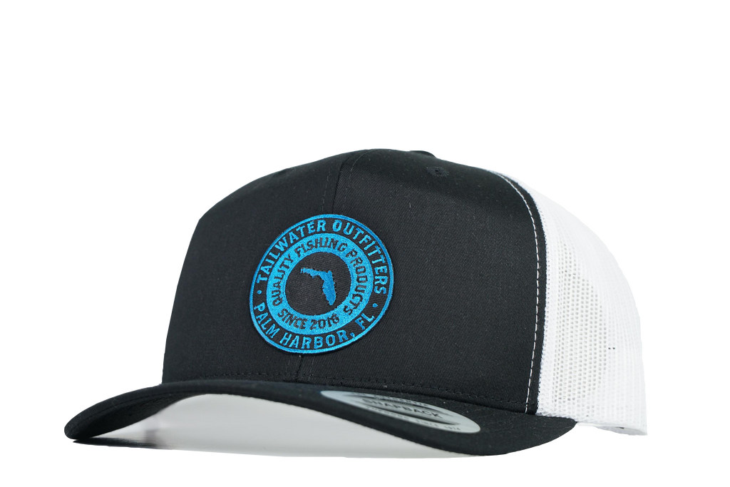 6 Panel FL Patch Trucker - TailwaterOutfitters