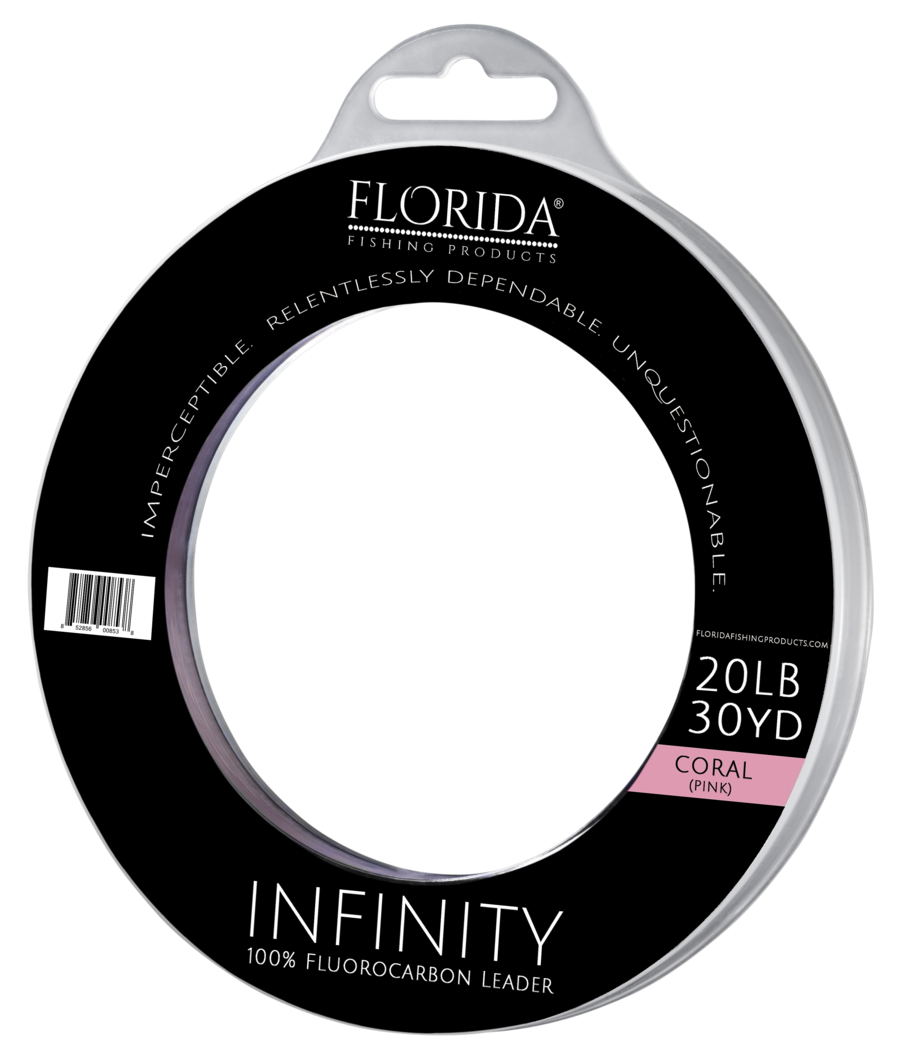 Infinity 100% Fluorocarbon Leader Coral - TailwaterOutfitters