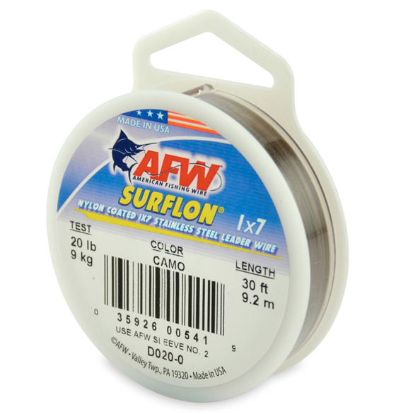 AFW Surflon Coated Cable - TailwaterOutfitters