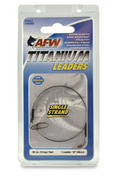 AFW Titanium Leader - TailwaterOutfitters
