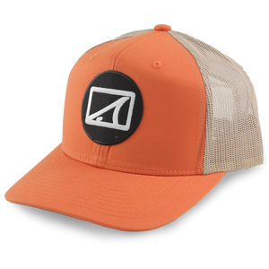 Drum Circle 6 Panel Orange - TailwaterOutfitters