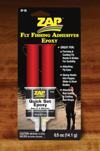 Zap Quick Set Epoxy - TailwaterOutfitters