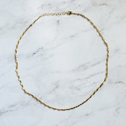 Two Tone Gold and Silver Necklace