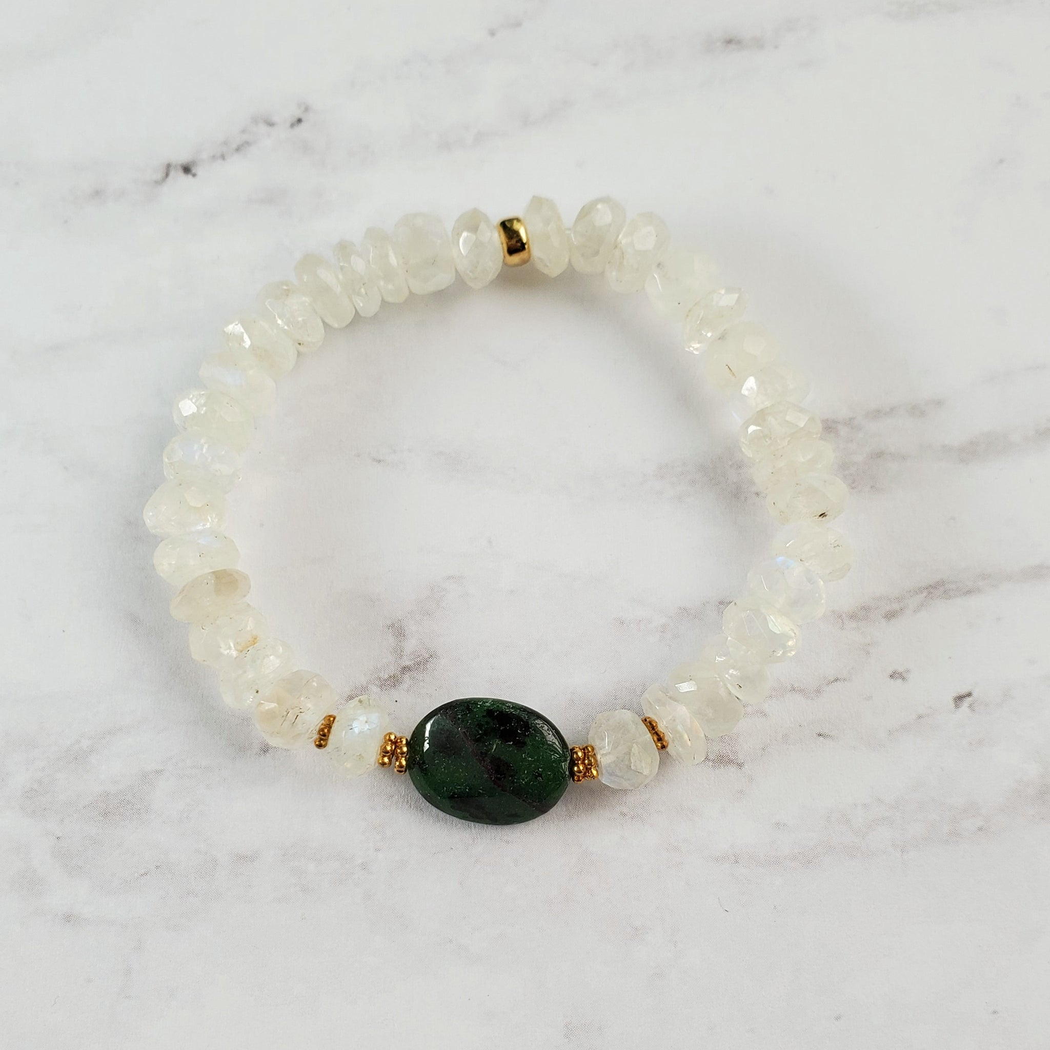 Zoisite Stretch Bracelet