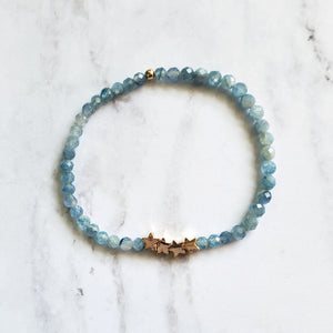 Stars and Hexagon Stretch Bracelet