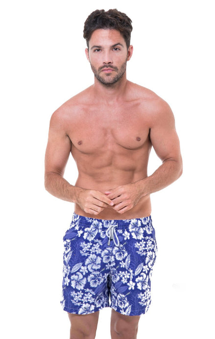 Maar - Blue Flowers Atria Men Short