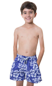 Maar - Blue Flowers Nova Boys Short
