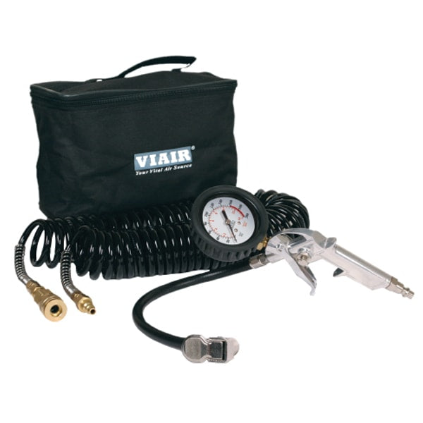 "tyre Inflation Kit (200 PSI) w/2.5"" Mechanical Gauge tyre Gun, 200 PSI, 30' Hose, Carry Bag"