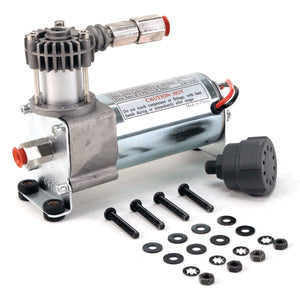 92C Compressor Kit w/ External Check Valve & Intake Filter (12V, 9% Duty, Sealed)