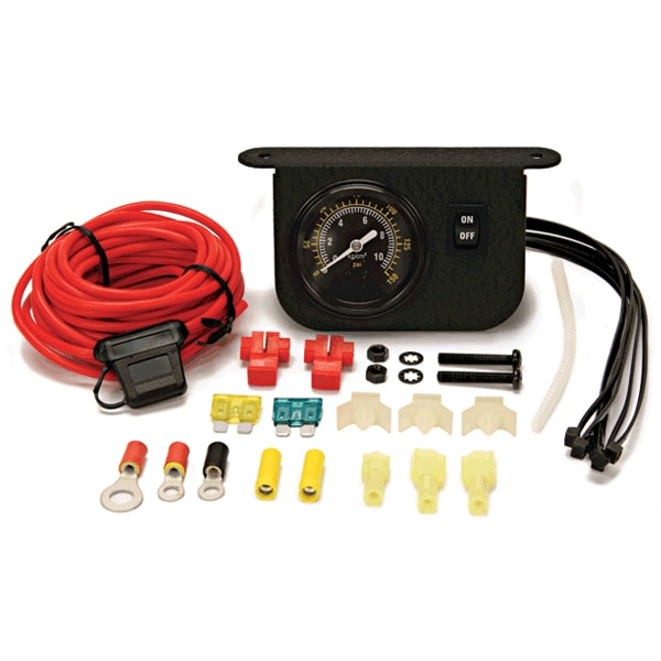 Illuminated Dash Panel Gauge Kit (150 PSI 30 Amp)
