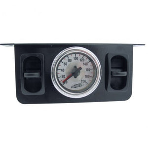 Dual Needle Gauge with two paddle switches 200 PSI