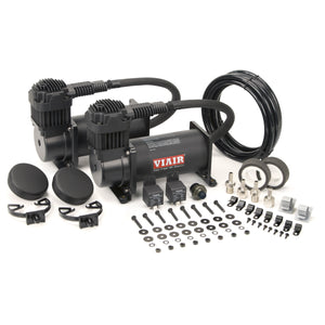 Dual Stealth Black 380C Value Pack (200 PSI, 380C/2, 165/200 P. Switch, 40 Amp Relay/2)