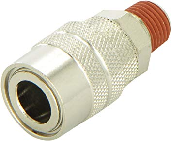 1/4in Quick Connect Coupler (M, NPT)
