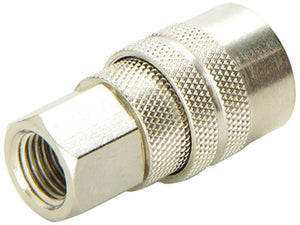 1/4in Quick Connect Coupler (F, NPT)
