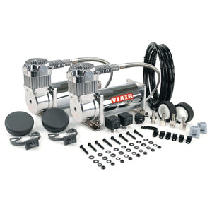Dual Chrome 400C Value Pack (150 PSI, 400C/2, 110/145 P. Switch, 40 Amp Relay/2)