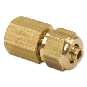1/8in Female NPT to 1/4in Compression Fitting (for 1/4in Air Line)