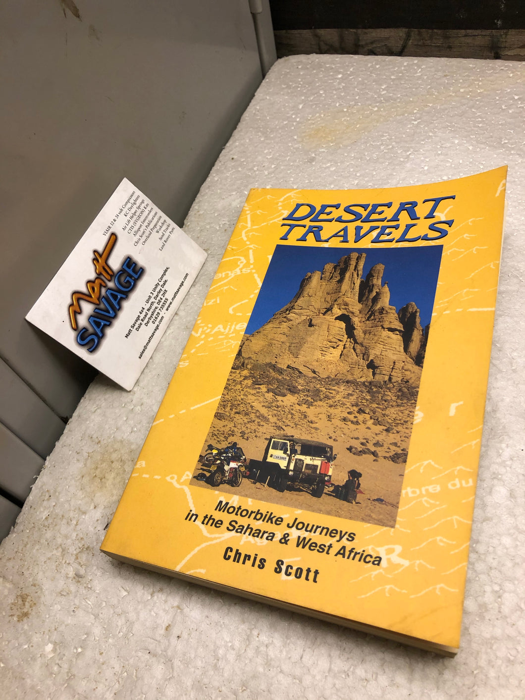 Desert Travels by Chris Scott new old stock
