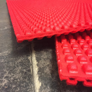 Wild Mats Red (pair) vehicle recovery for 4x4. tracks mud grass green lane!