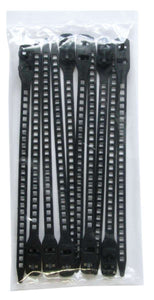 SoftTIE DL Tie 7/180mm Black - 10 pack