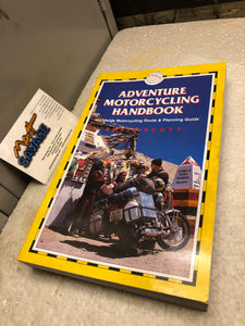 Chris Scott Adventure Motorcycling Handbook new old stock Book