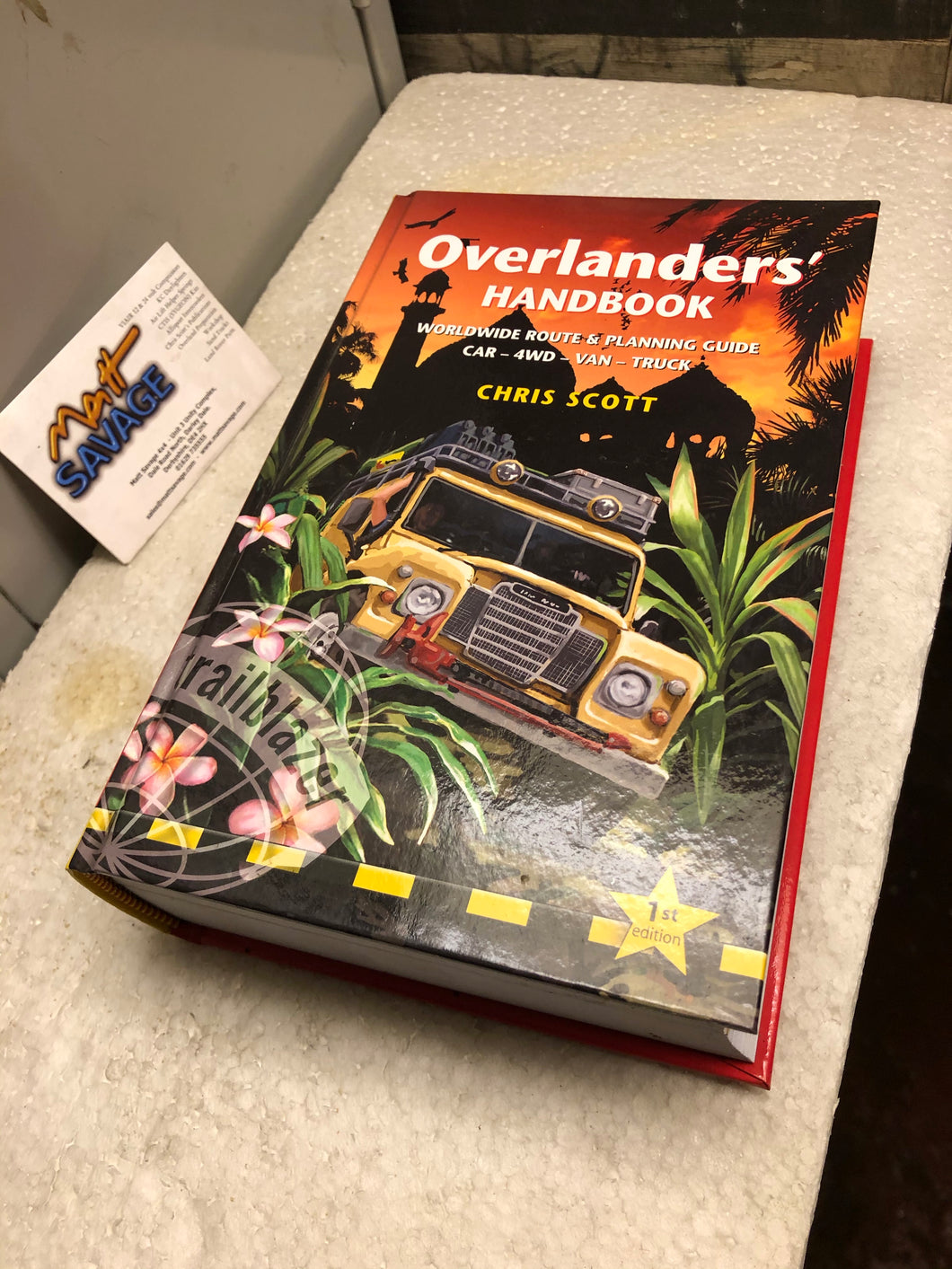 Chris Scott Overlanders Handbook New Old Stock SIGNED!