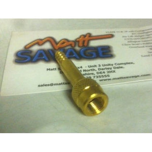 SCHRADER VALVE ADAPTOR 1/4IN